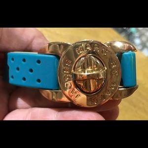 Marc by Marc Jacobs Rubber Turn Lock Bracelet